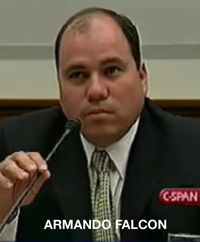Armando Falcon at 2004 hearing
