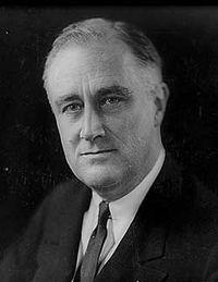 Franklin Roosevelt president