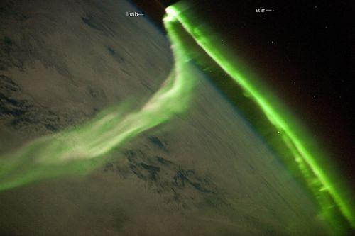 NASA aurora photo