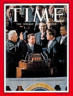 1961 Kennedy inauguration