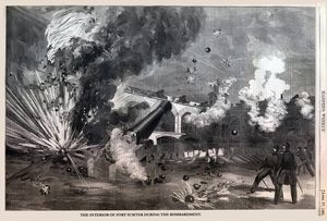 Fort Sumter April 12 61