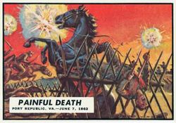 A Painful Death Civil War card