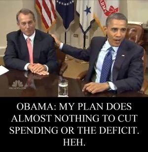Boehner Obama deficits