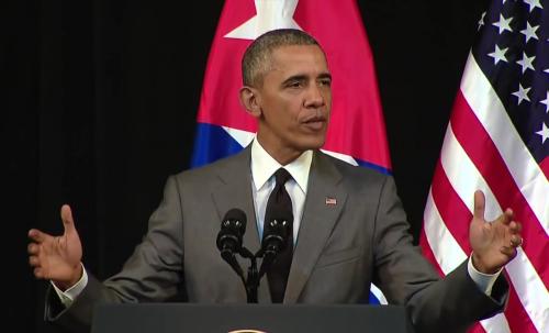 A Obama in Cuba