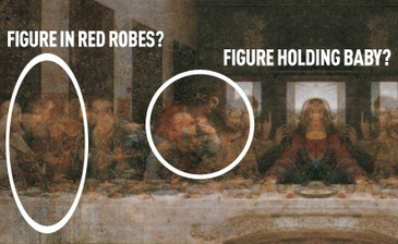 an analysis of the hidden meanings of leonardo da vincis work of art last supper Leonardo da vinci's the last supper is one of the most admired, most studied, and most reproduced paintings the world has ever known but no matter how many times you've seen it, we'll bet you don .