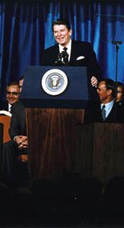 president reagans speech to the nae